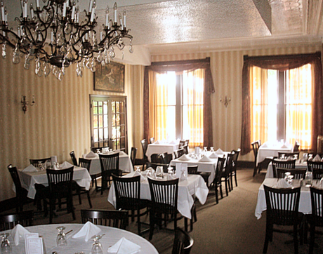 Dining Room The Wayne Inn Hotels Honesdale Pa