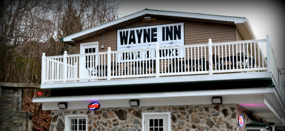 Sign, The Wayne Inn, hotels honesdale pa